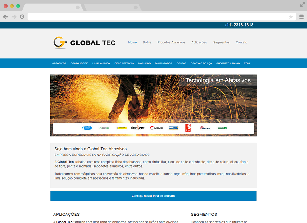 Site Global Tec - Home