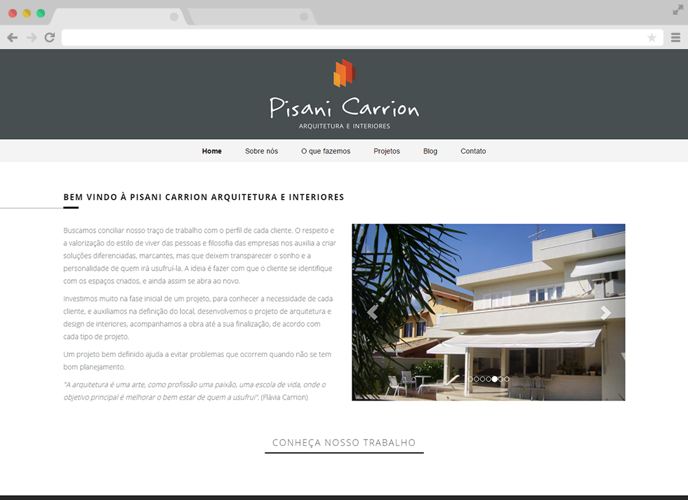 Site Pisani Carrion - Home