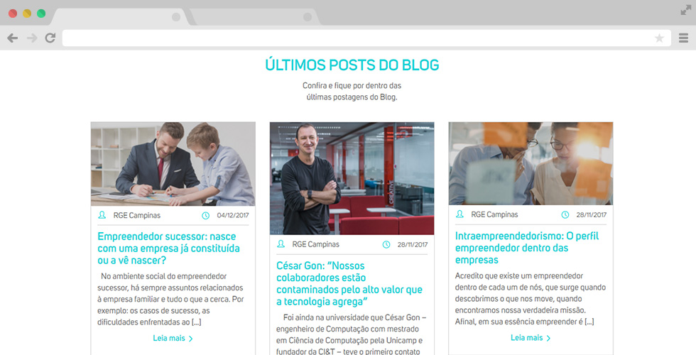 Posts do blog