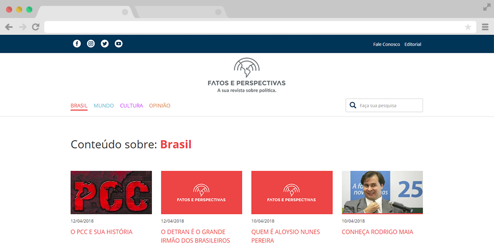 Categoria Portal Fatos e Perspectivas